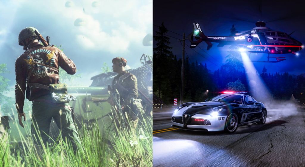 Battlefield Need for Speed 2021 2022